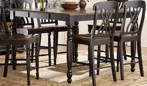 Homelegance BK Ohana  Tone Counter Height Table - Counter height dining table in black