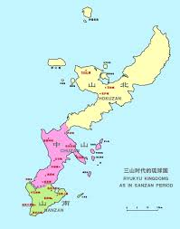 Okinawa Map Chūzan Wikipedia
