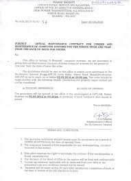 Tender Acceptance Letter Acceptance Period by Hpt Malad Amc Computers 21042016 Jpg