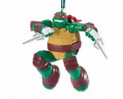mutant turtles raphael tree ornament