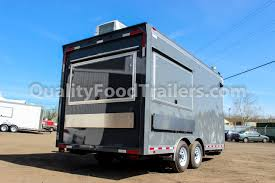gray double axle 16 ft concession trailer quality food trailers previous