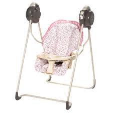 Pink Swinging Baby Chair Fisher Price Emily Gentle Motion Baby Swing
