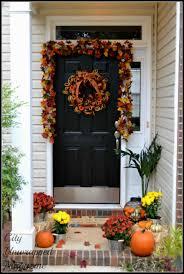 diy front door fall decor arch dsgn