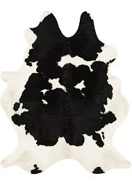 Couristan Runners Chalet Redingote Cowhide Leather Area Rugs