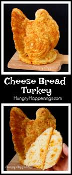 cheese bread turkey a loaf shaped like a turkey for