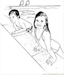 swimming1 coloring page free swimming coloring pages