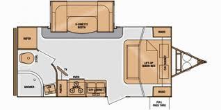Floor Plan Finder Full Specs For 2014 Cruiser Rv Fun Finder F 210uds Rvs Rvusa Com