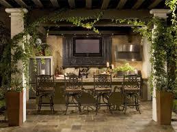 Backyard Canopy Ideas Exterior Backyard Outdoor Kitchen With Diy Canopy And Climbing