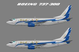 boeing 737 300 juergen u0027s paint hangar airlines