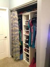 Shower Curtain For Closet Door Replace Closet Doors With Curtains Ed Ex Me