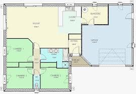 plan maison 4 chambres plain pied gratuit plans maison plain pied gratuit vos idées de design d intérieur