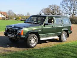 1989 jeep wagoneer limited 1997 jeep cherokee limited 4 0 se auto for auction anglia car