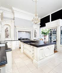 clive christian architectural kitchen in antique ivory looking