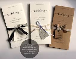 wedding invitation details u0026 response single sheet template