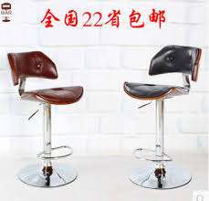 revolving bar stool high end fashion contracted solid wood buffet chairs home bar