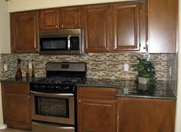 kitchen design electric stove microwaves comely mosaic ceramic electric stove microwaves comely mosaic ceramic tile diy kitchen backsplash brown varnished wooden traditional kitchen cabinet