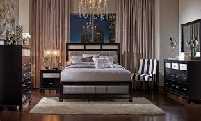 Upholstered Bedroom Sets Coaster Barzini Upholstered Bedroom Set Black 200891 Bedroom Set