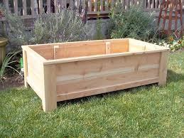 wooden garden box home design
