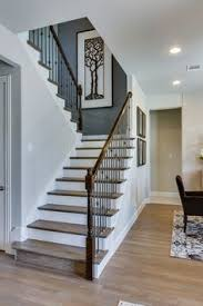 U Stairs Design U Shaped Stairs From The Ground Floor Note The Closet The