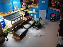 menards new morton salt building pics o gauge railroading on