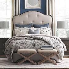 Upholstered King Size Bed King Size Beds Bedroom Furniture Bassett Furniture