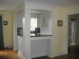 galley kitchen turned into breakfast bar home pinterest
