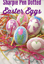 decorations for easter eggs decorate easter eggs with sharpie pens hometalk