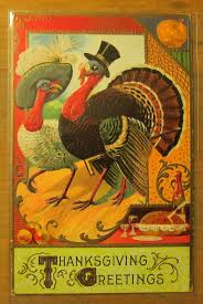 221 best cards thanksgiving vintage images on