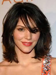 coupe pour cheveux pais coiffure cheveux epais et ondule les tendances mode du automne