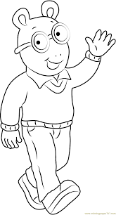 Halloween Coloring Pages Free by Arthur Coloring Pages Arthur Halloween Coloring Pages Archives