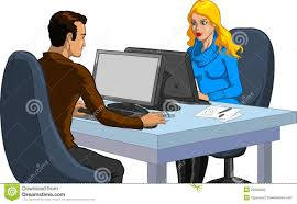 Couples Computer Desk Couple Working On Computers Stock Photos Image 22592003