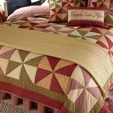 country bedding mill village quilted bedding