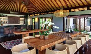 Balinese Dining Table Villa Pawana Uluwatu Bali Ultimate Bali Villas