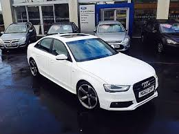 audi northern dealers audi a4 3 0 tdi quattro s line black edition pg mcgillion motors