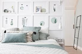 chambre deco scandinave diy une cloison déco pour tête de lit