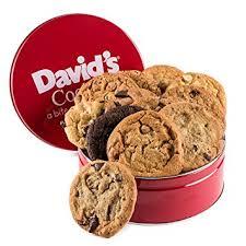 gift cookies david s cookies assorted fresh baked cookie gift tin