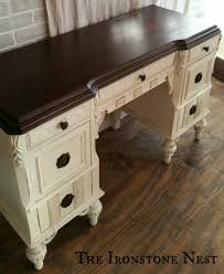 Painting Old Furniture by Chalk Paint The Ironstone Nest Final 5 Furniture Redo