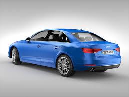 Audi A4 2016 3d Cgtrader