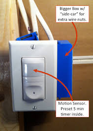 timer sensor light switch how do you install a light switch 5 steps with great pictures