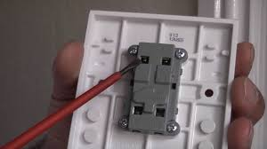 how to replace a faulty light switch youtube