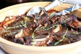 oven braised flanken beef ribs cooking in sens