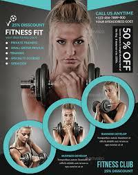 fitness flyer template fitness flyer template 29 free psd format free