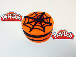 play doh halloween spider web cake awesome cake for a baby w a