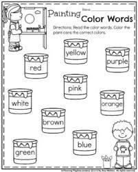 back to kindergarten worksheets planning playtime
