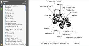 kubota tractor loader backhoe mower manual parts b21 bt751 tl421