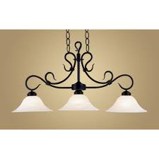 Black Kitchen Light Fixtures Shop Kitchen Island Lighting At Lowes
