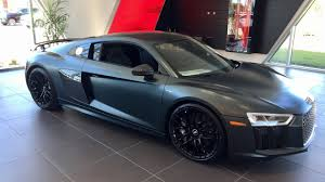 Audi R8 Green - 2017 audi r8 v10 plus coupe is this car better then the huracan