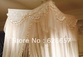 Lace Bed Canopy Bed Canopy Mosquito Net Princess Romantic Lace Light Beige A In