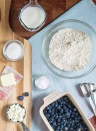 Goat Cottage Cheese by Blueberry Goat Cheese Drop Biscuits