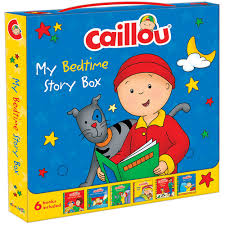 caillou bedtime story box jaguar book group toys